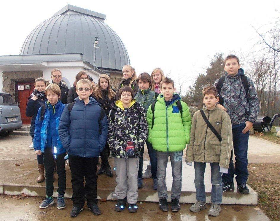 V Brně jsme obdivovali noční oblohu i mamuta