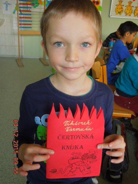Projekt Mikuláš v I. třídě