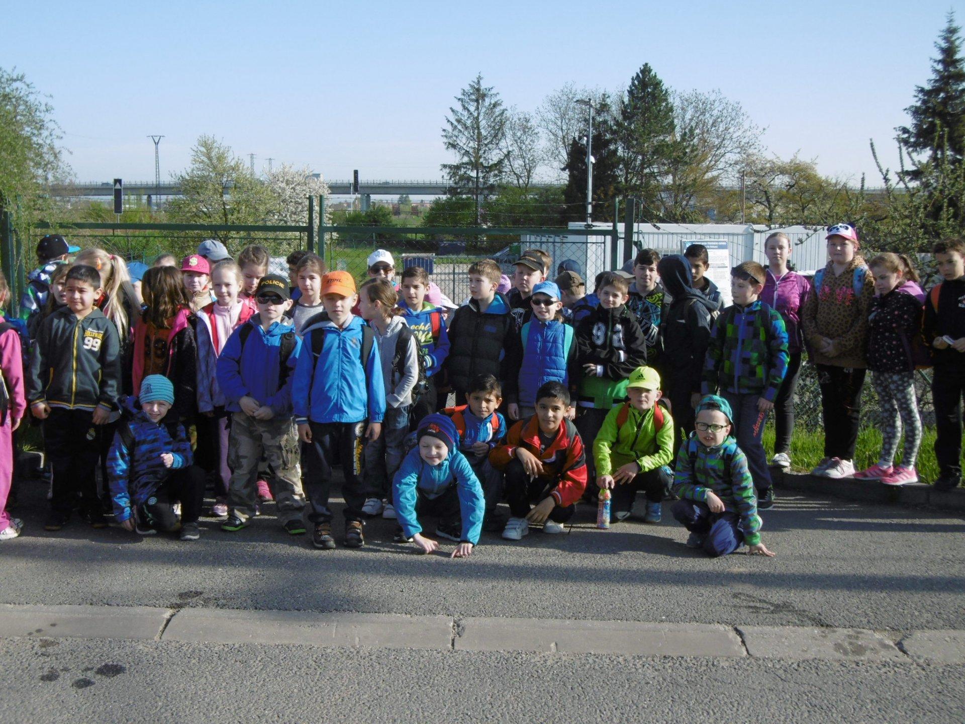 Žáci I. stupně se vydali k soutoku Olšavy a Moravy