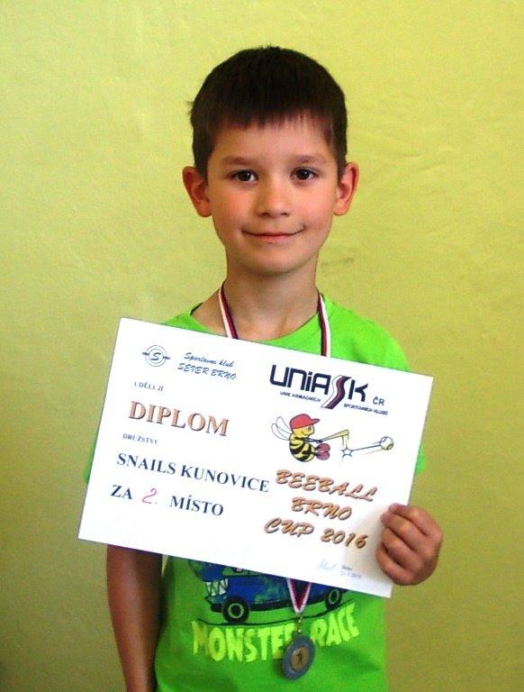 Mladí softbalisti získali 2. místo