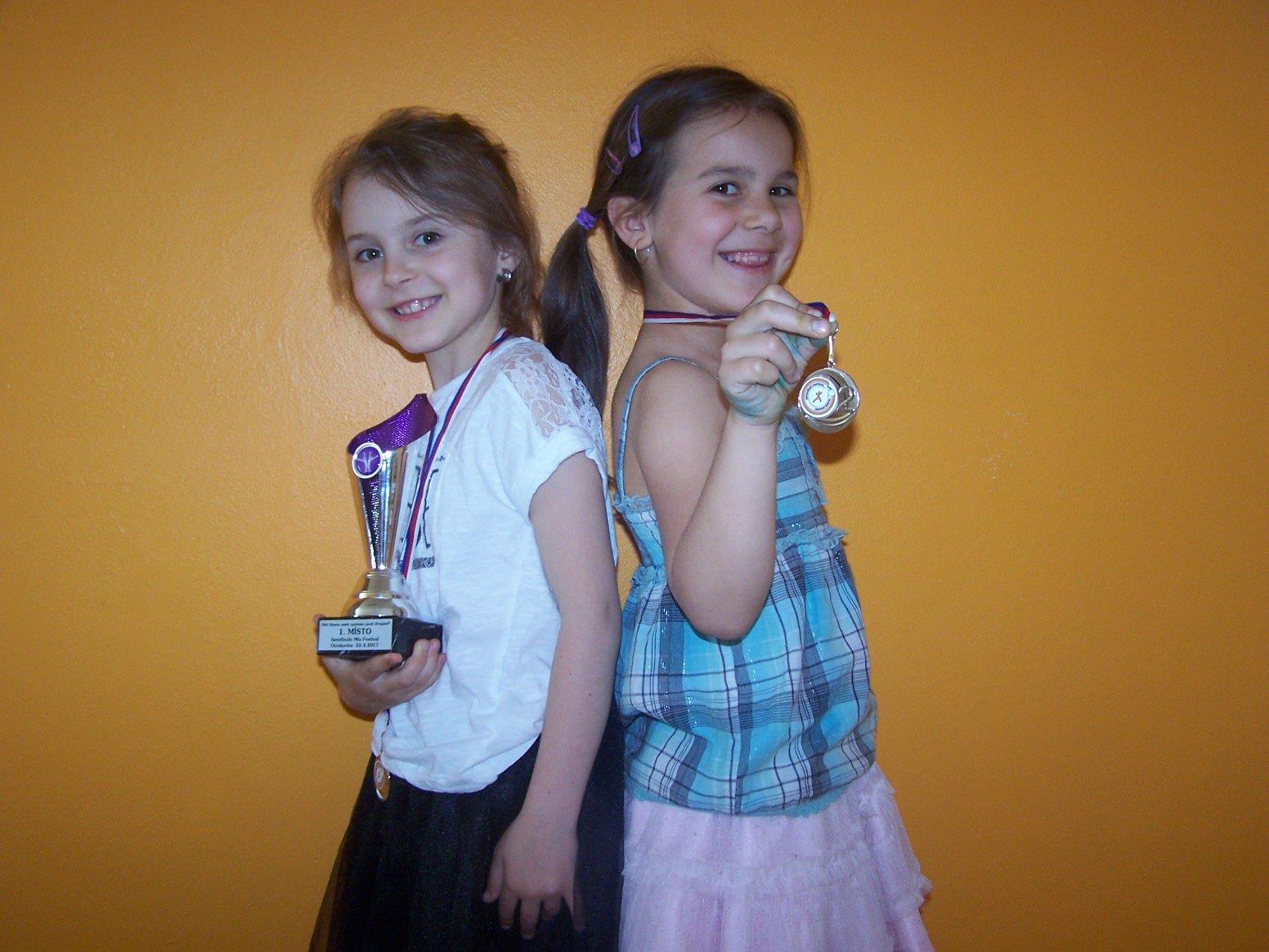 Další trofeje pro aerobik!