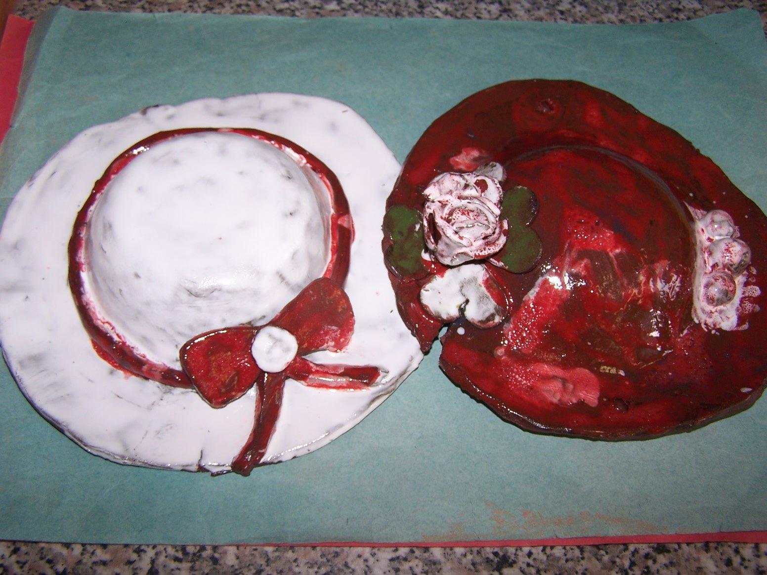 Práce keramického kroužku