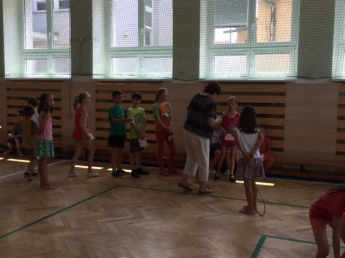 Olympiádka ve školní družině
