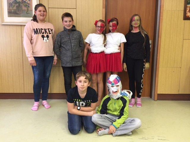 Halloween v kroužku Angličtiny