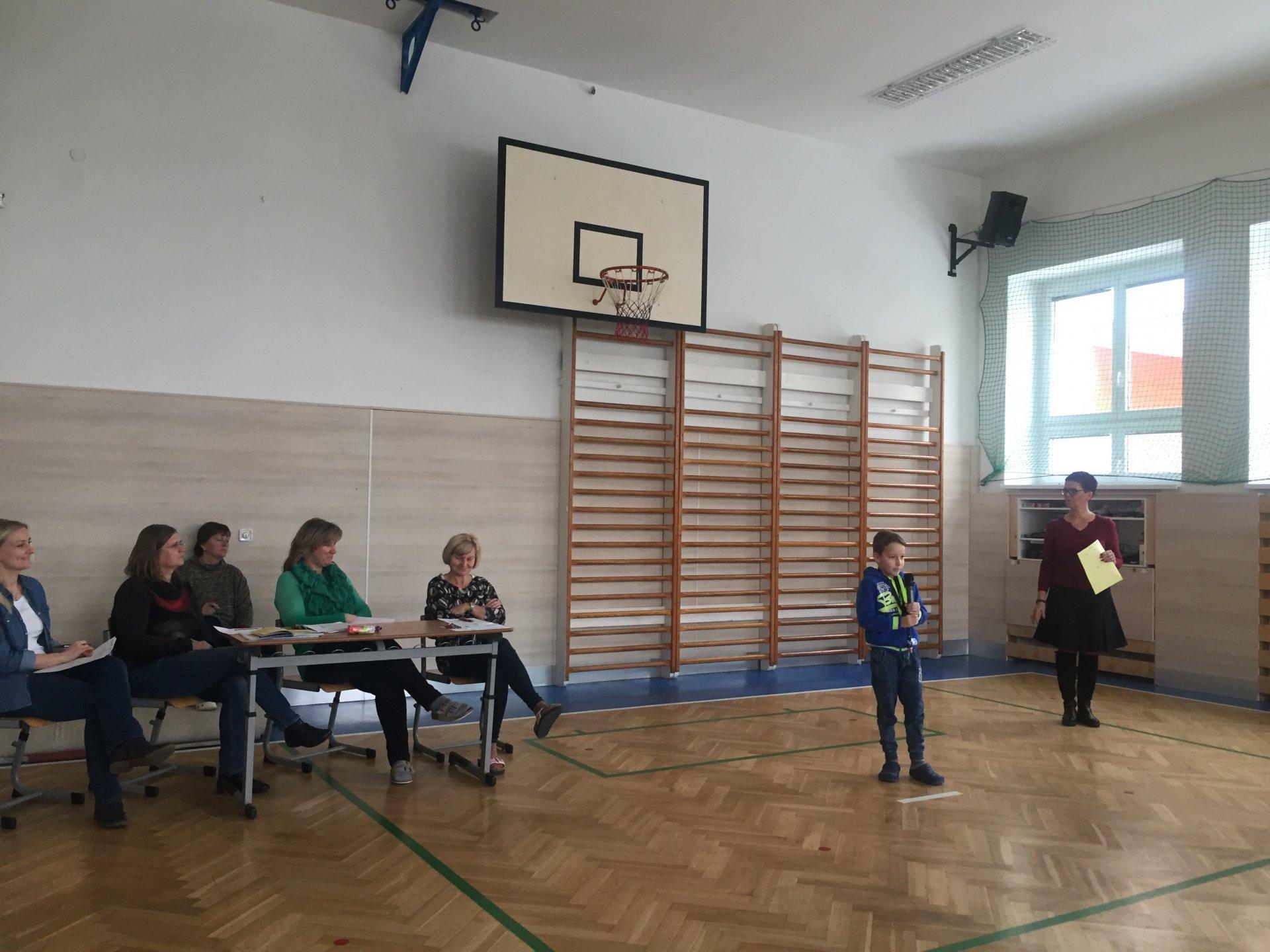 Školní kolo recitační soutěže I. stupně