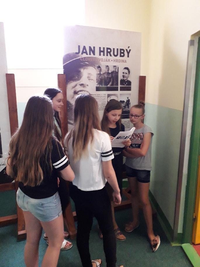 Žáci si připomněli osvobození Kunovic