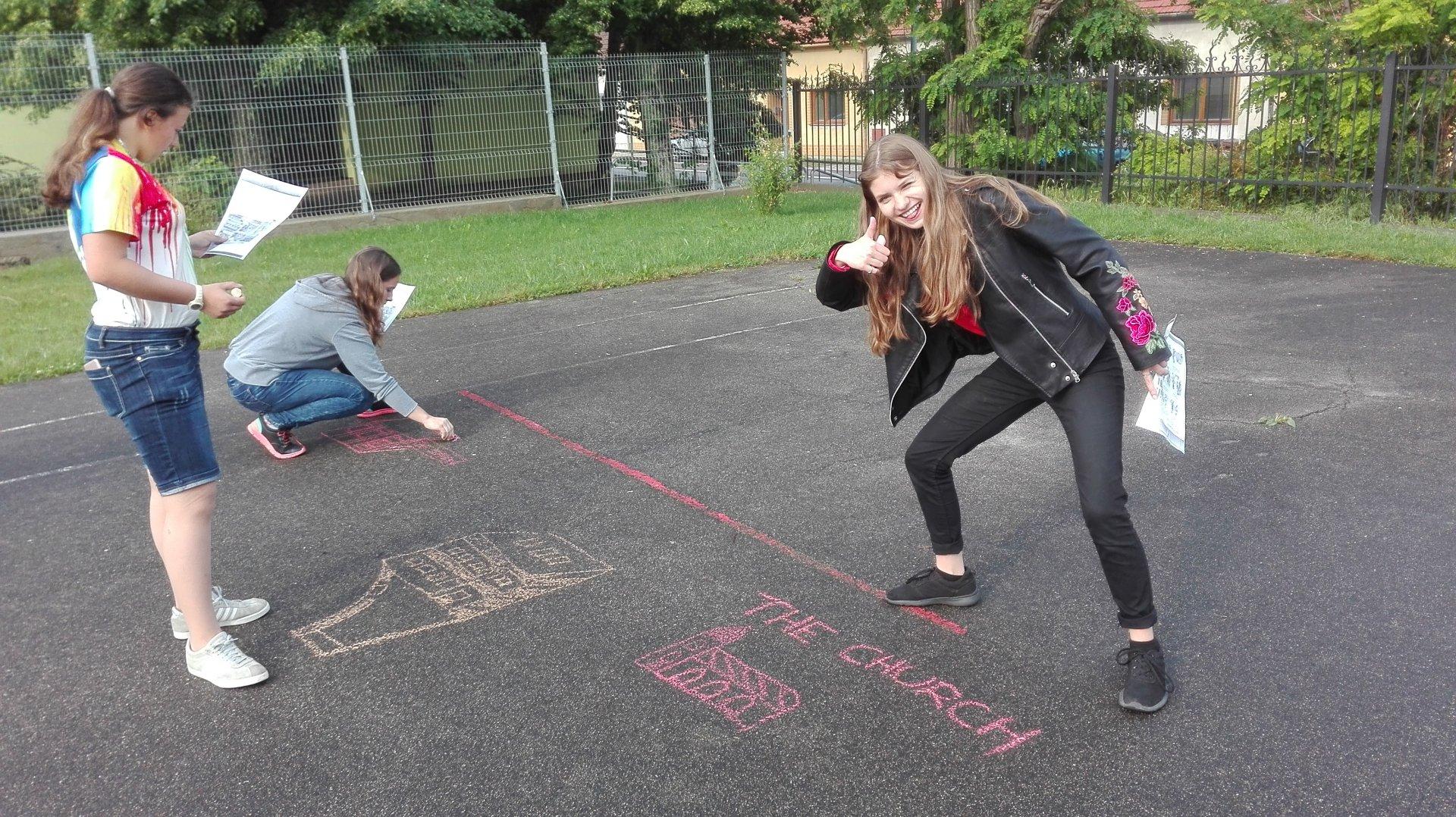 Outdoorová aktivita v anglickém jazyce