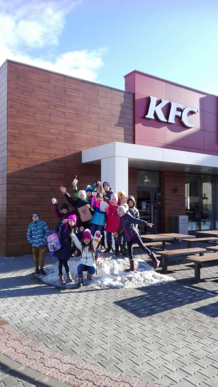 Výlet do KFC, TESCA