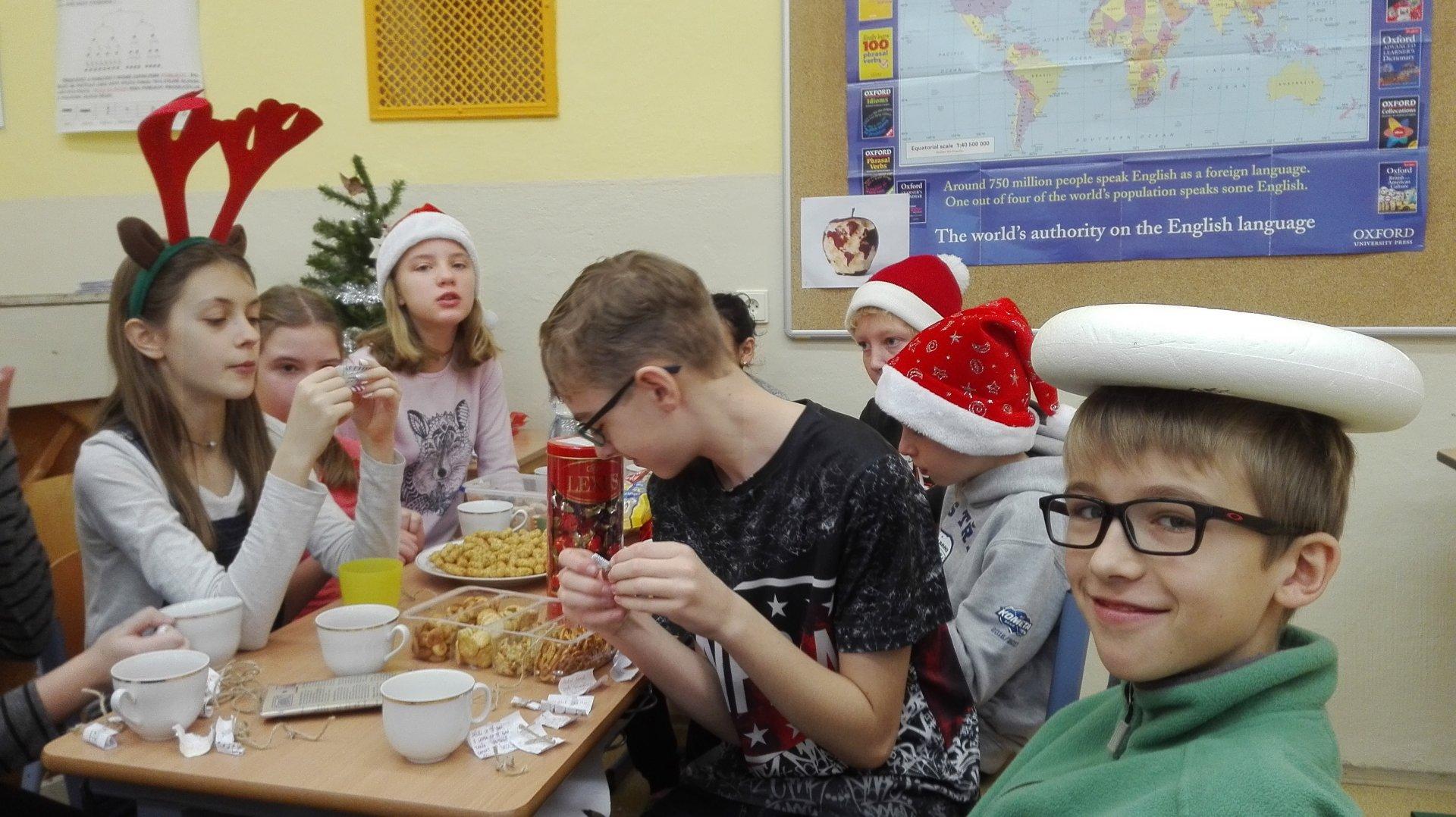 Vánoční párty VI.A