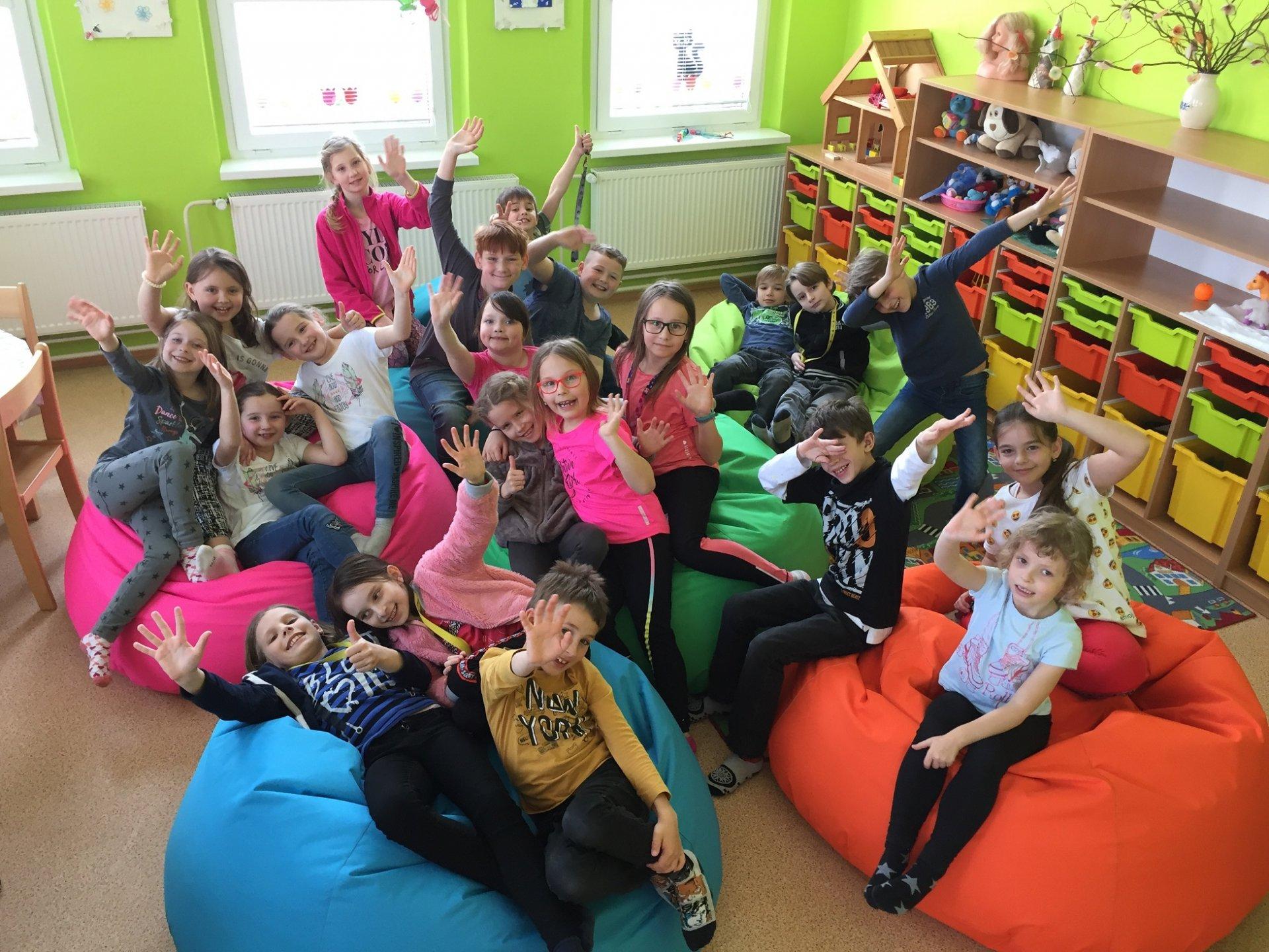 Nové sedací vaky ve školní družině