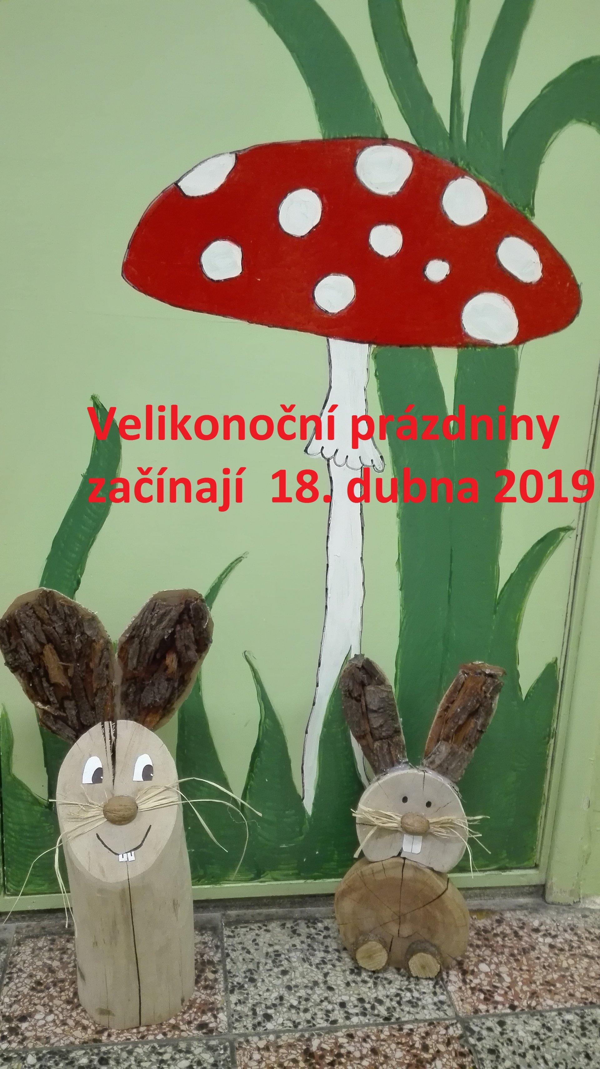Velikonoční prázdniny začínají