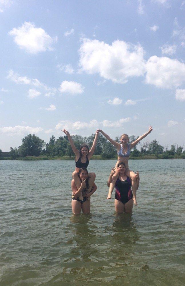 Byly jsme plavat….