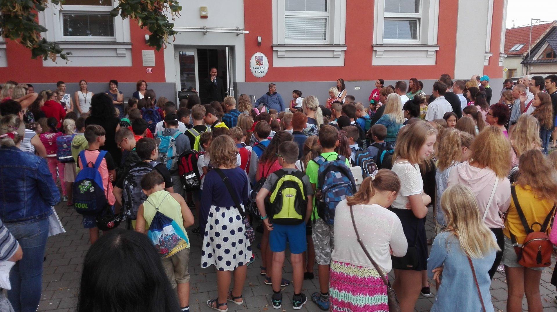 Slavnostní zahájení nového školního roku