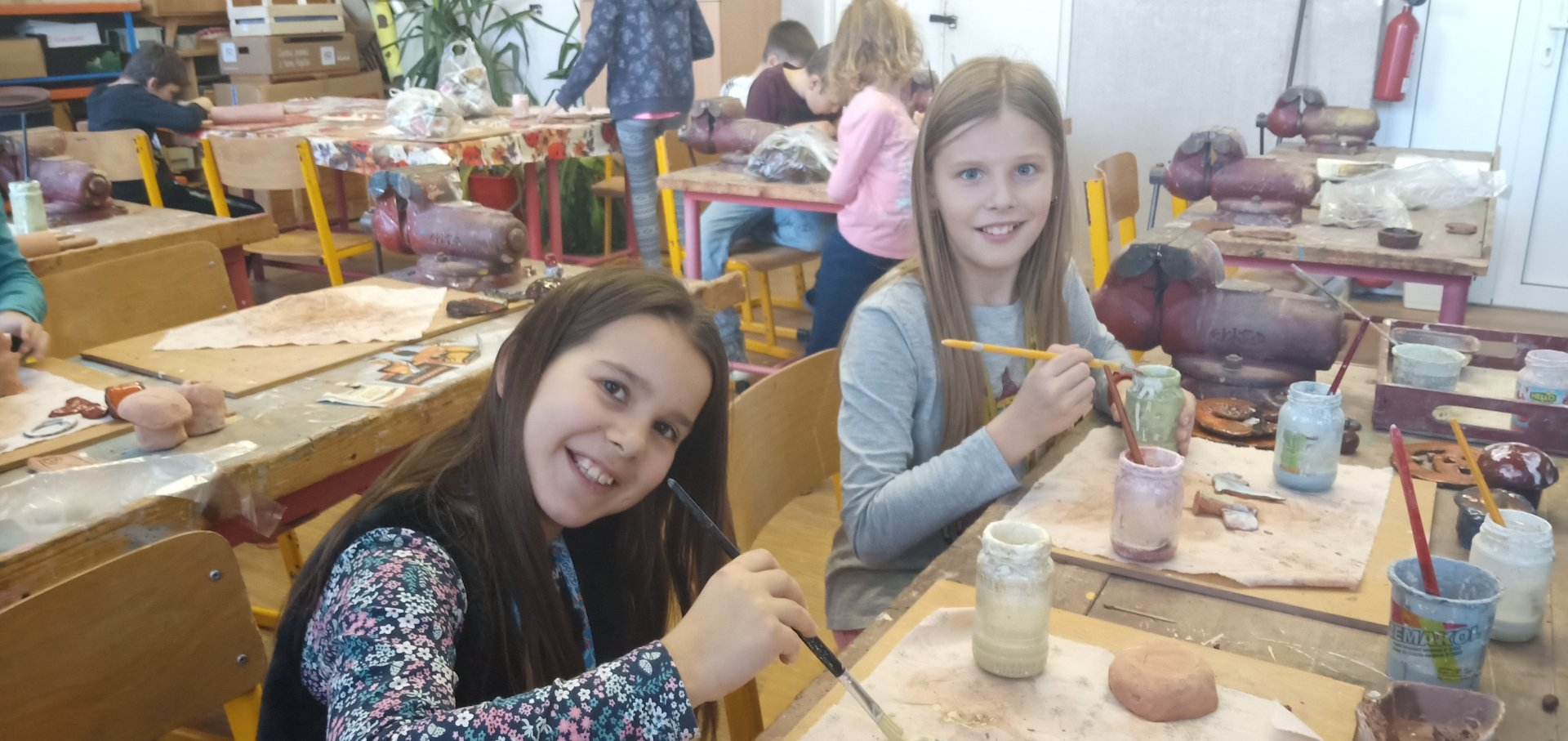 Šikulky z keramiky