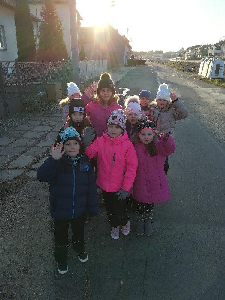 Novoroční procházka kolem Kunovic