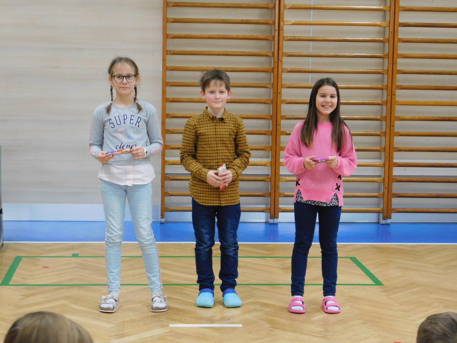 Školní kolo recitační soutěže - I. stupeň