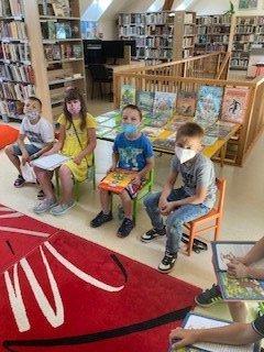 Pasování na čtenáře v Městské knihovně