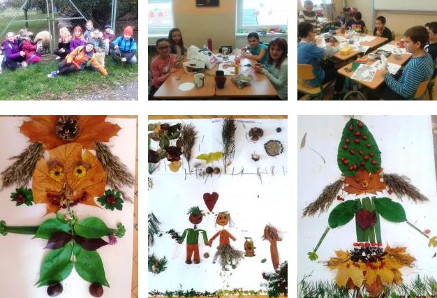 Podzim  - projektové vyučování v naší třídě
