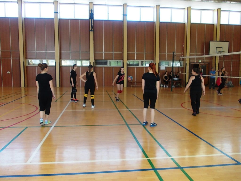 Volejbalový kroužek v akci