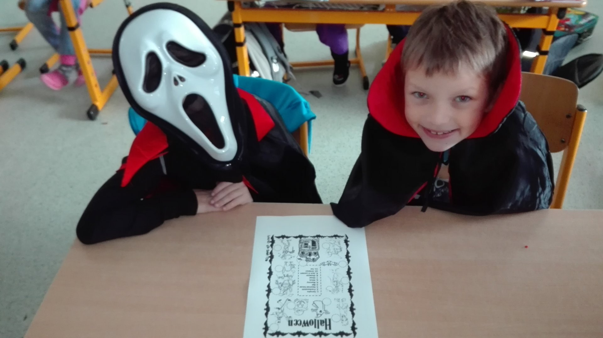Halloween v angličtině na I. stupni